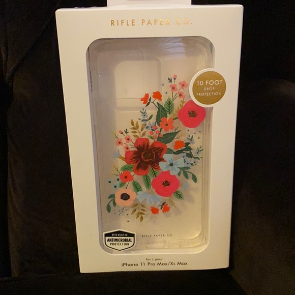 Rifle paper co. phone case iPhone11 promax Xsmax